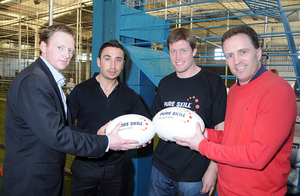 Ronan O'Gara officially Launches Pure Skill Galway